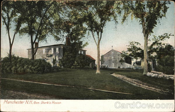 Gen. Stark's House Manchester New Hampshire