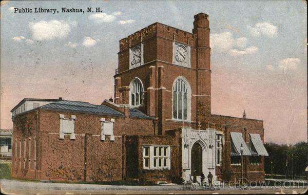Public Library Nashua New Hampshire