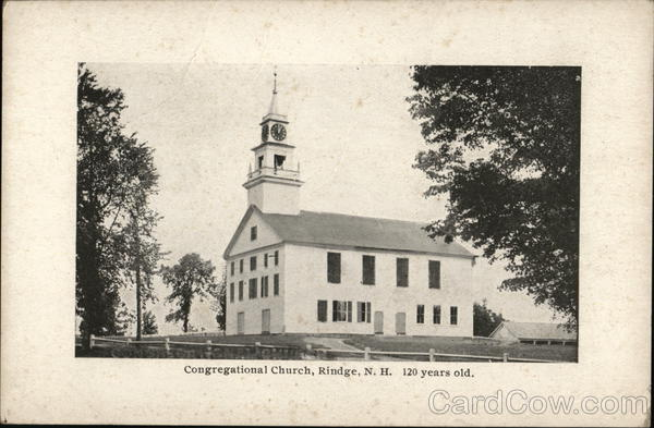 Congregational Church Rindge New Hampshire