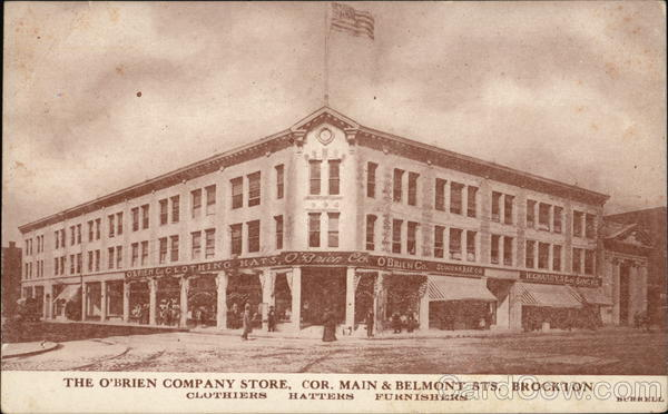 The O'Brien Comapny Store Brockton Massachusetts Burrell
