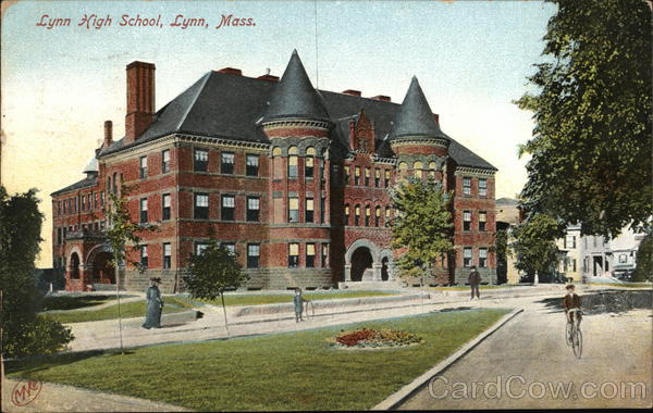 High School Building Lynn Massachusetts