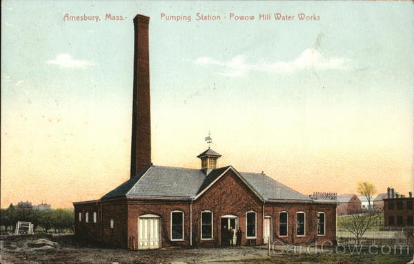 Pumping Station, Powow Hill Water Works Amesbury Massachusetts