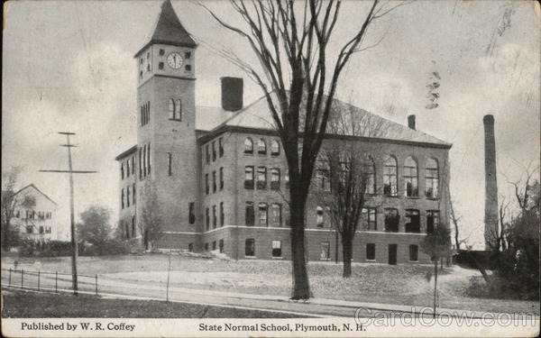 State Normal School Plymouth New Hampshire