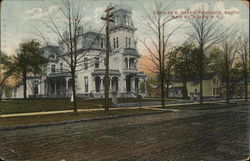 Charles E. Hart's Residence, South Main St. Postcard