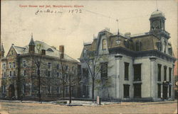 Court House and Jail Postcard