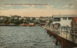 Yacht Club and Bird's Eye View of Town