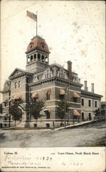 Court House, North Bench Street Postcard