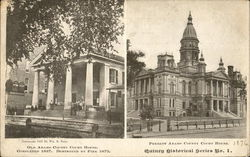 Old Adams County Courthouse & Present Adams County Courthouse