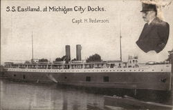S.S. Eastland, at Michigan City Docks