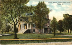 Soldiers Orphans Home - Hospital Building Postcard