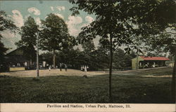 Pavilion and Station, Urban Park