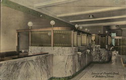 Interior of People's Bank of Belvidere