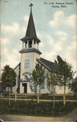 Evangelical Lutheran Emanuel Church Postcard