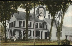 Residence of Governor Bert M. Fernaid Postcard