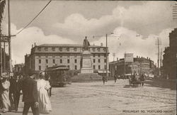 Monument Sq Postcard