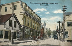 Government St. and Odd Fellows' Hall