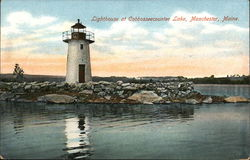 Lighthouse at Cobbosseecountee Lake
