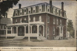 Farmington Inn Postcard
