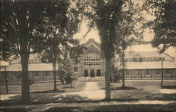 Alumni Gymnasium, Dartmouth College Postcard