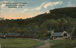 Base of Uncanoonuc Mountain, Showing Incline Railway