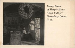 "Living Room of Harper Home ""Rest Valley"""