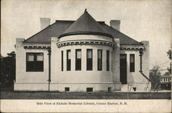 Side View of Nichols Memorial Library