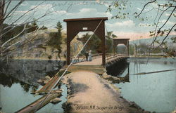 View of Suspension Bridge