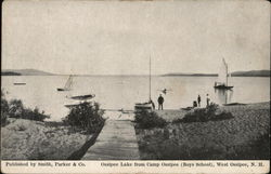 Ossipee Lake from CAmp Ossipee (Boys School)