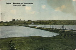 Sudbury Reservoir and Boston Road