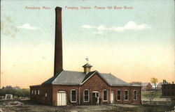 Pumping Station - Powow Hill Water Works