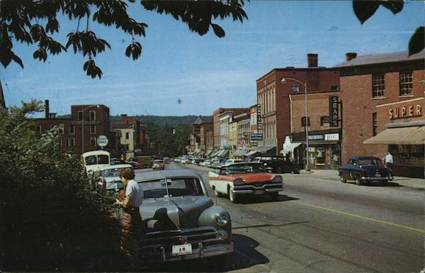 Main Business Thoroughfare Franklin New Hampshire