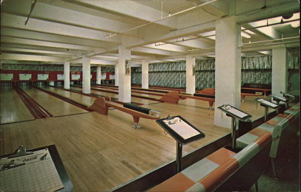 Hanover Street Bowling Lanes Manchester New Hampshire