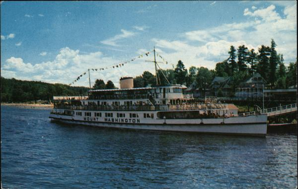 A Trip to Remember - M. V. Mt. Washington Lake Winnipesaukee New Hampshire