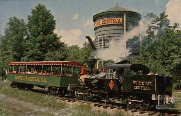 Engine No. o4 of the White Mountain Central Railroad North Woodstock New Hampshire