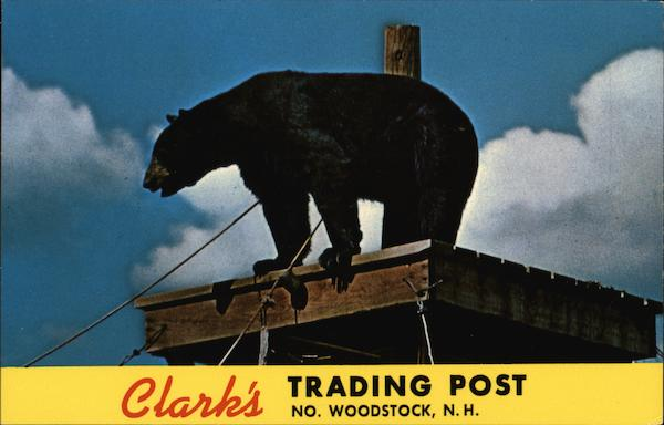 Clark's Trading Post North Woodstock New Hampshire