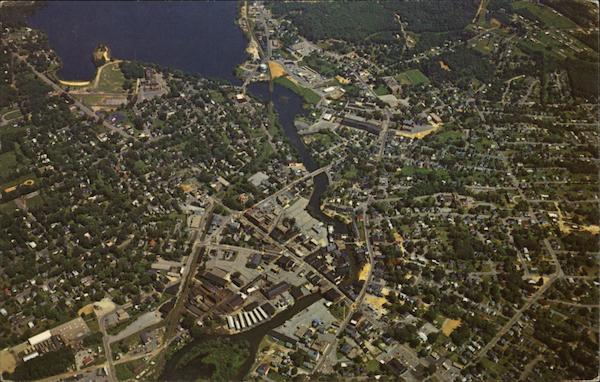 Aerial View of Laconia New Hampshire