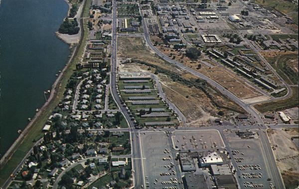 Aerial View of Richland Washington Lynn Shelton