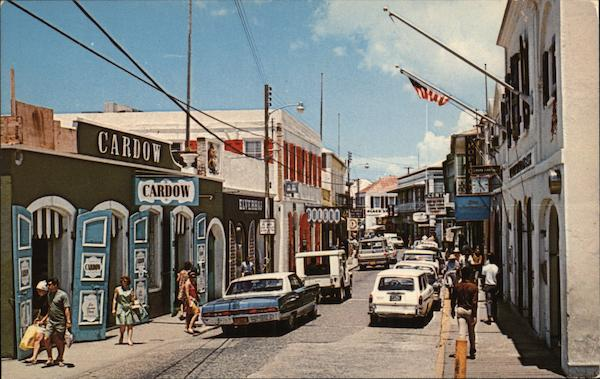 Main Street St. Thomas Virgin Islands Caribbean Islands