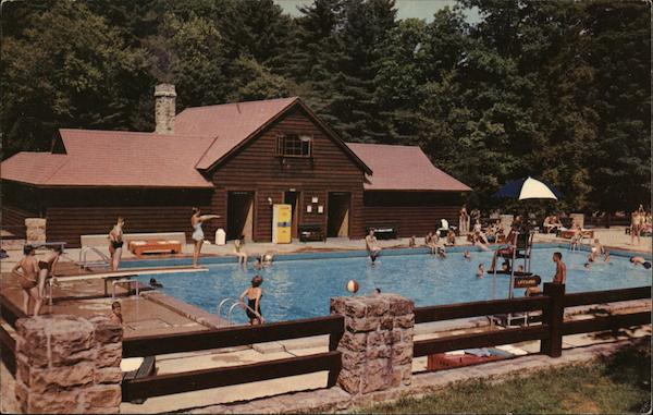 Watoga State Park - Swimming Pool Marlinton West Virginia