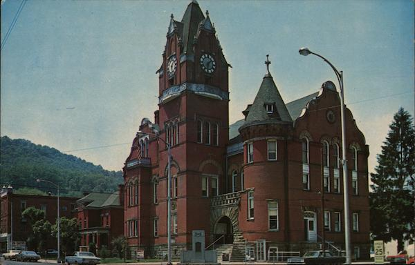 Tucker County Courthouse Parsons West Virginia C. H. Ruth
