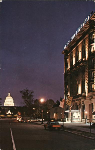 Hotel Continental Washington District of Columbia