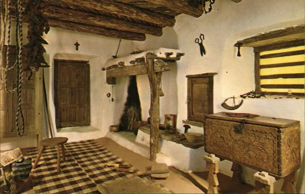 Spanish-Colonial Room, Vicinity of Santa Fe, 18th Century Washington District of Columbia