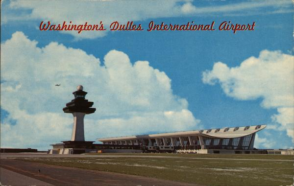 Dulles International Airport Washington District of Columbia