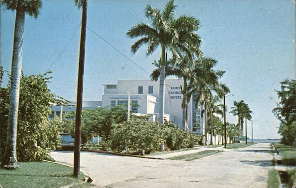 Port George Hotel Belize City Central America