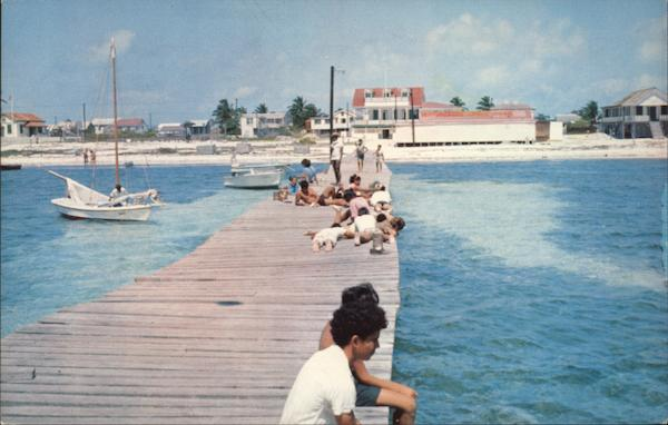 Town of San Pedro on Ambergris Caye Belize Dr. Geoffrey Frankson