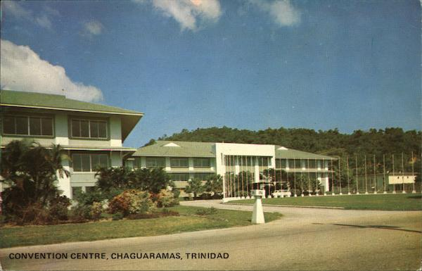 Convention Center Chaguaramas Trinidad Caribbean Islands