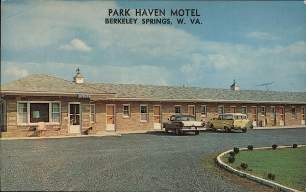 Park Haven Motel Berkeley Springs West Virginia