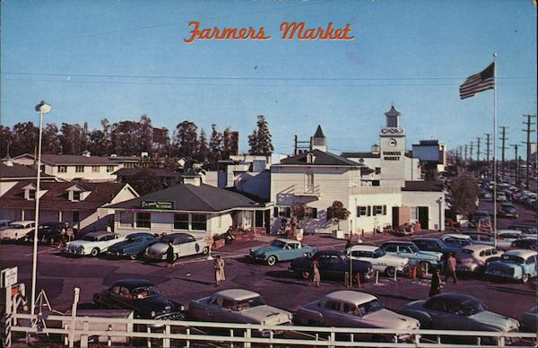 FARMERS MARKET LOS ANGELES California
