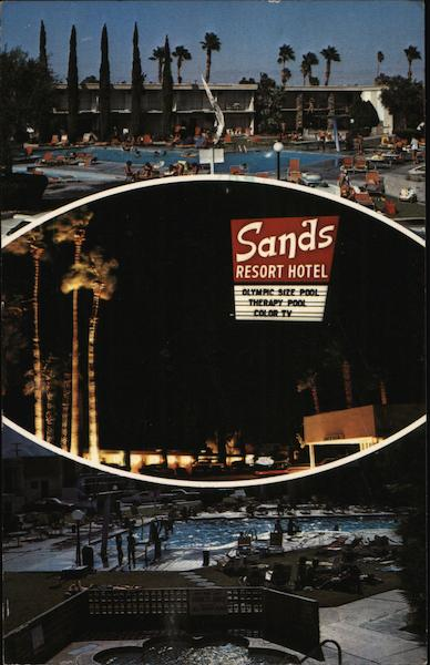 Sands Resort Hotel Palm Springs California