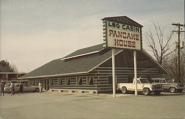 Log Cabin Pancake House Pigeon Forge Tennessee